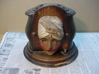 Genie head cigarette dispenser as it arrived