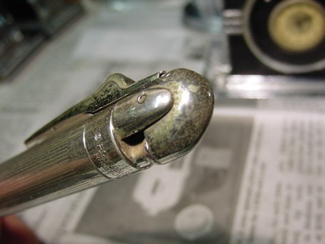 Rhodium Pencilighter finish corrosion