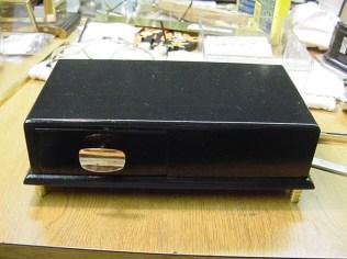 Refinished base of music box