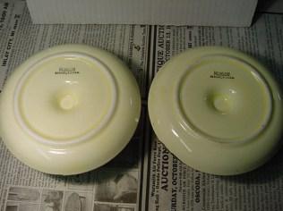Bottom of the Ronson Duet Ceramic Pieces.