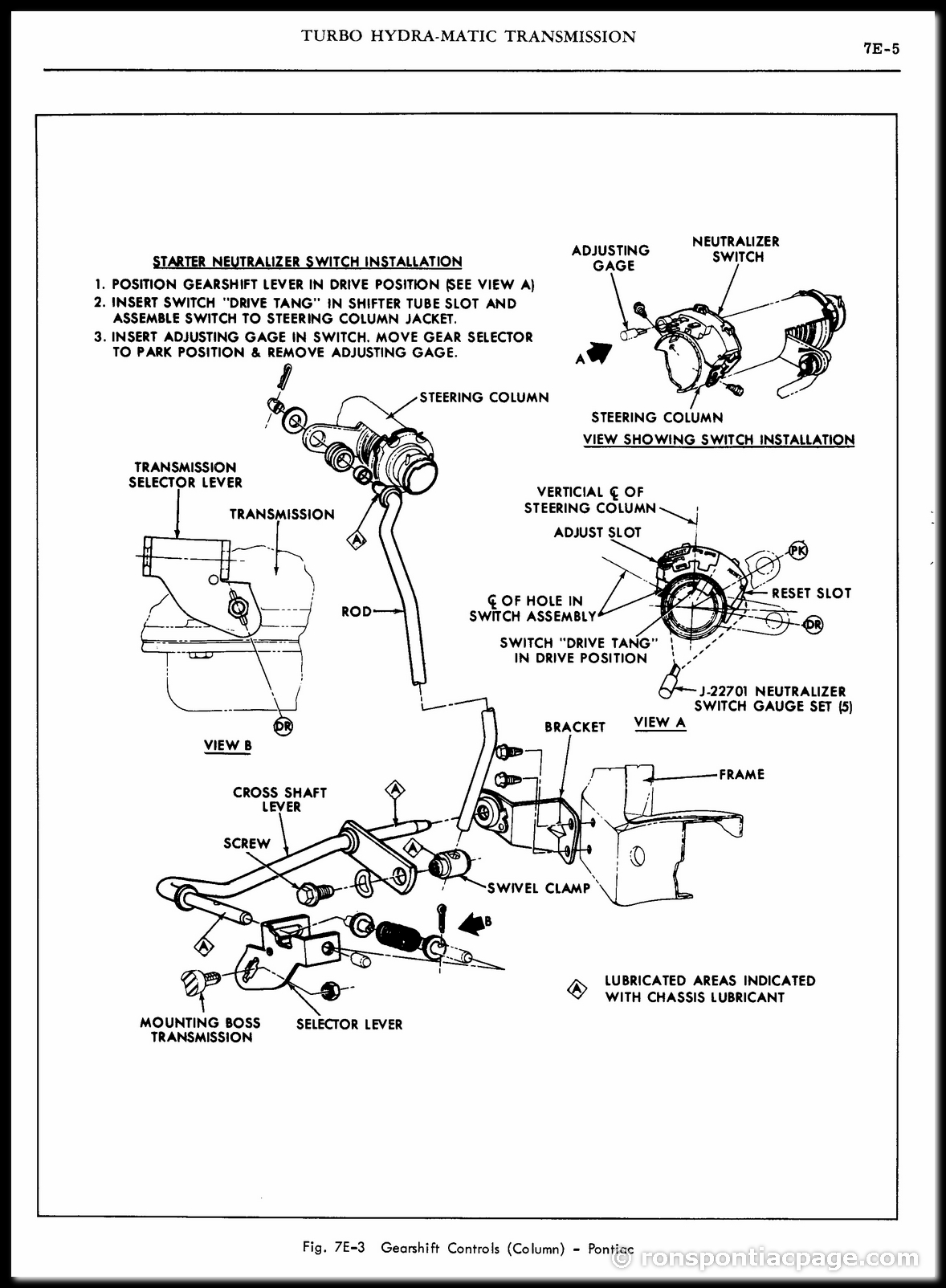 Section 7E: Turbo Hydra-Matic Automatic Transmission (5 of 65)