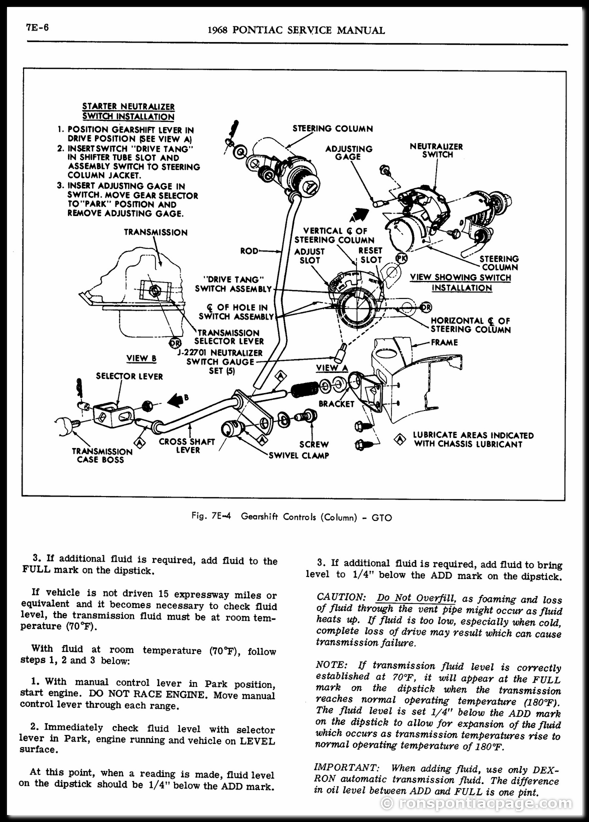 Section 7E: Turbo Hydra-Matic Automatic Transmission (6 of 65)