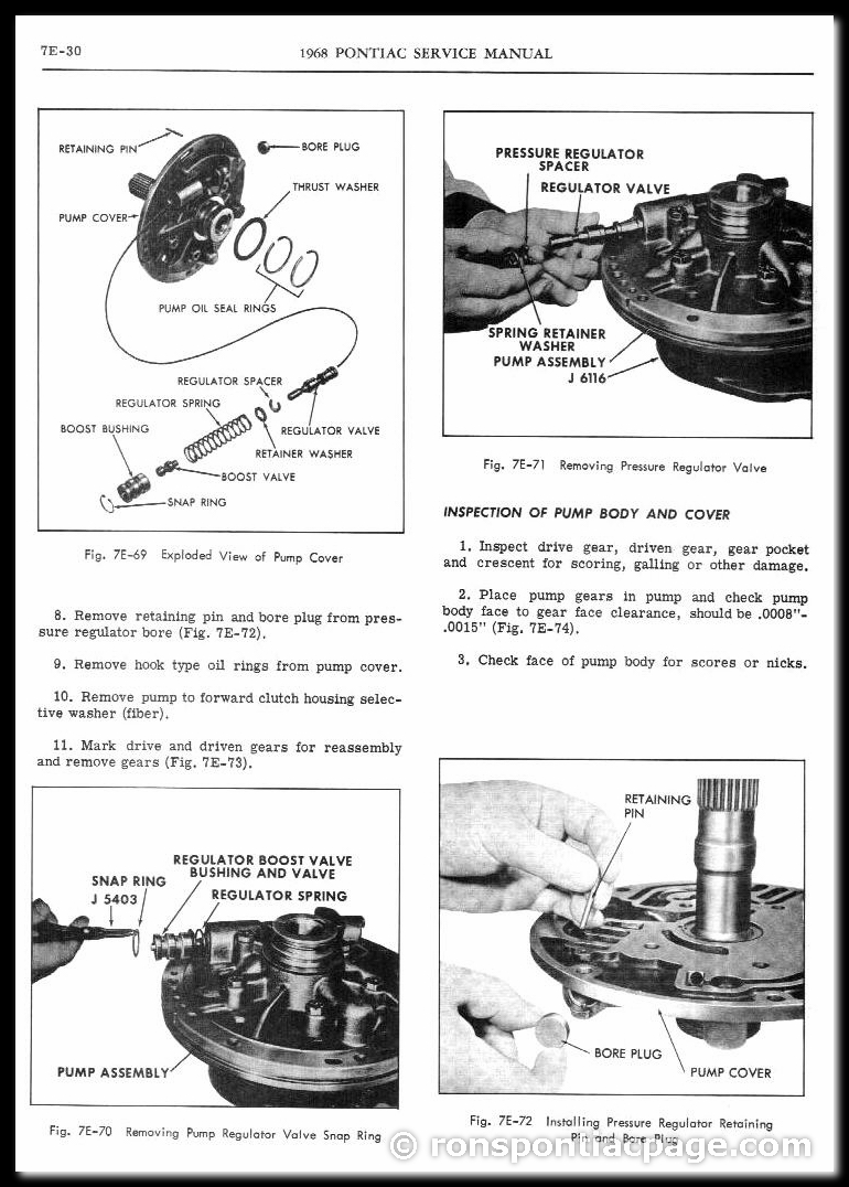 Section 7E: Turbo Hydra-Matic Automatic Transmission (30