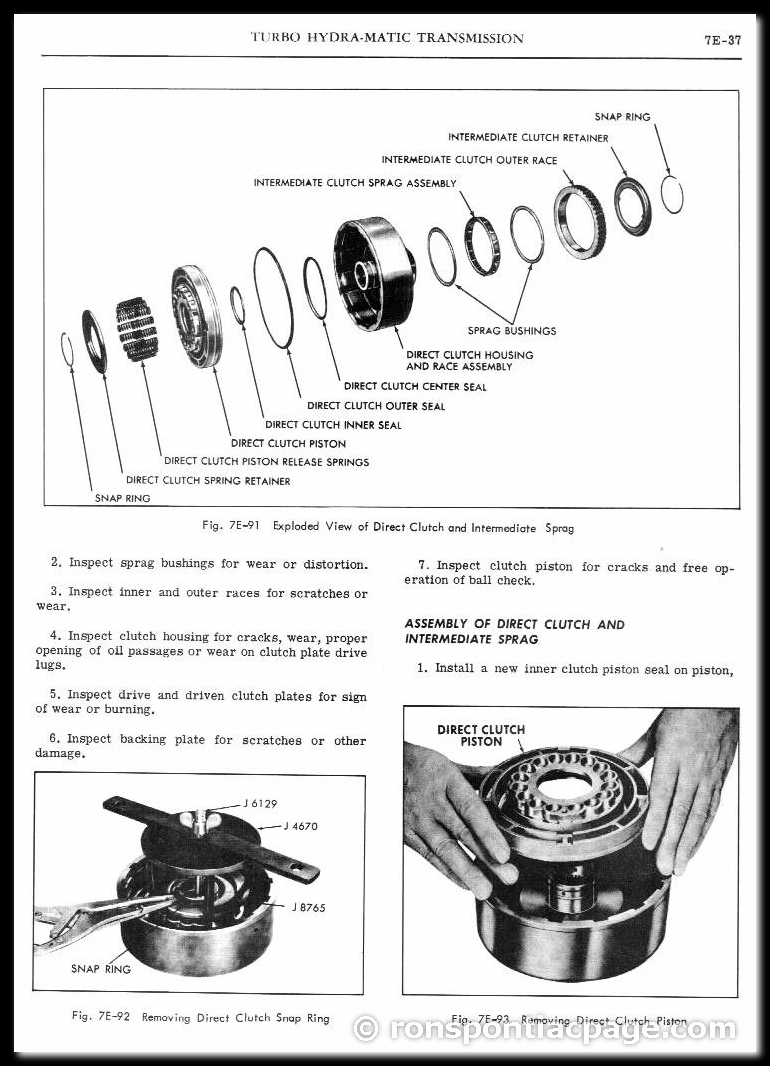 Section 7E: Turbo Hydra-Matic Automatic Transmission (37