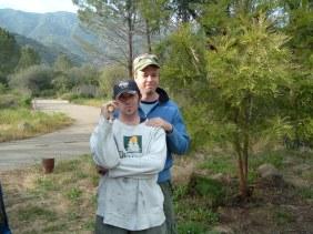 Camping in Ojai, 2005