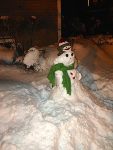 2015. There is always time for a snowman