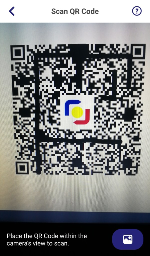 Scan to Pay screen