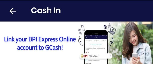 Link BPI to Gcash promotional banner