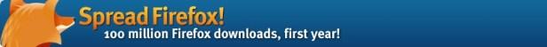 Spread Firefox logo