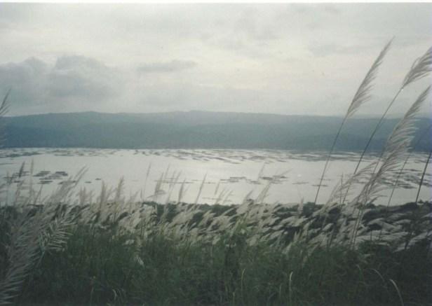 Taal Lake as seen from Taal Volcano Island