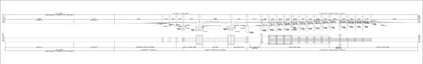 BGC Ortigas Center Bridge cross-section plan