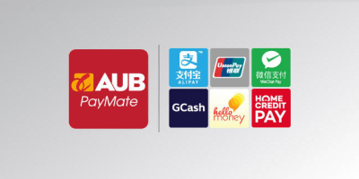 AUB PayMate e-wallet partners