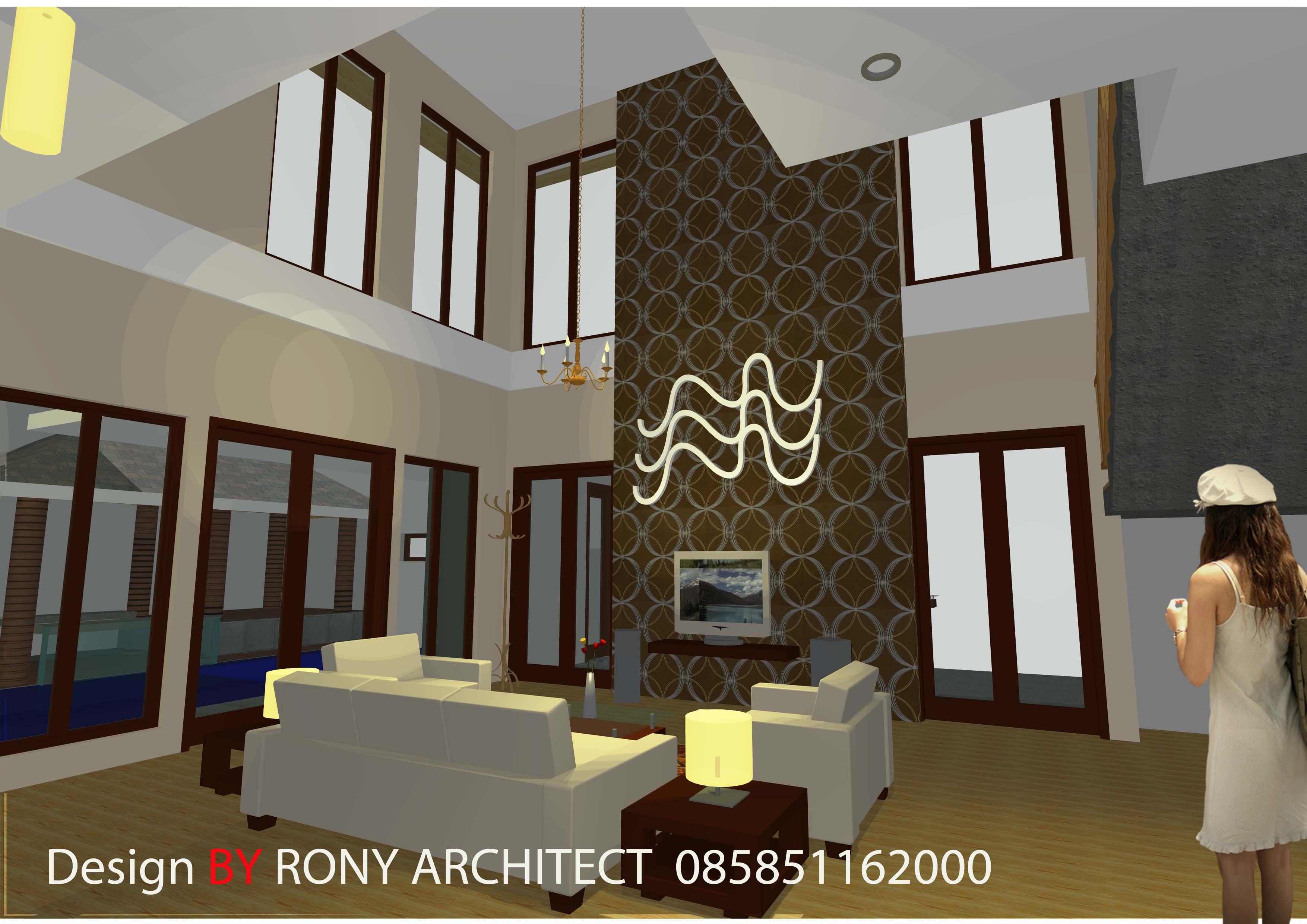 design rumah minimalis tropis terbaru  Roni Architect