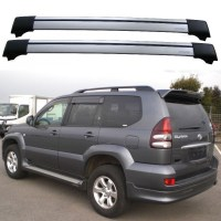 Toyota Land Cruiser 120 Prado 2003-2009 Roof Rack Aero ...