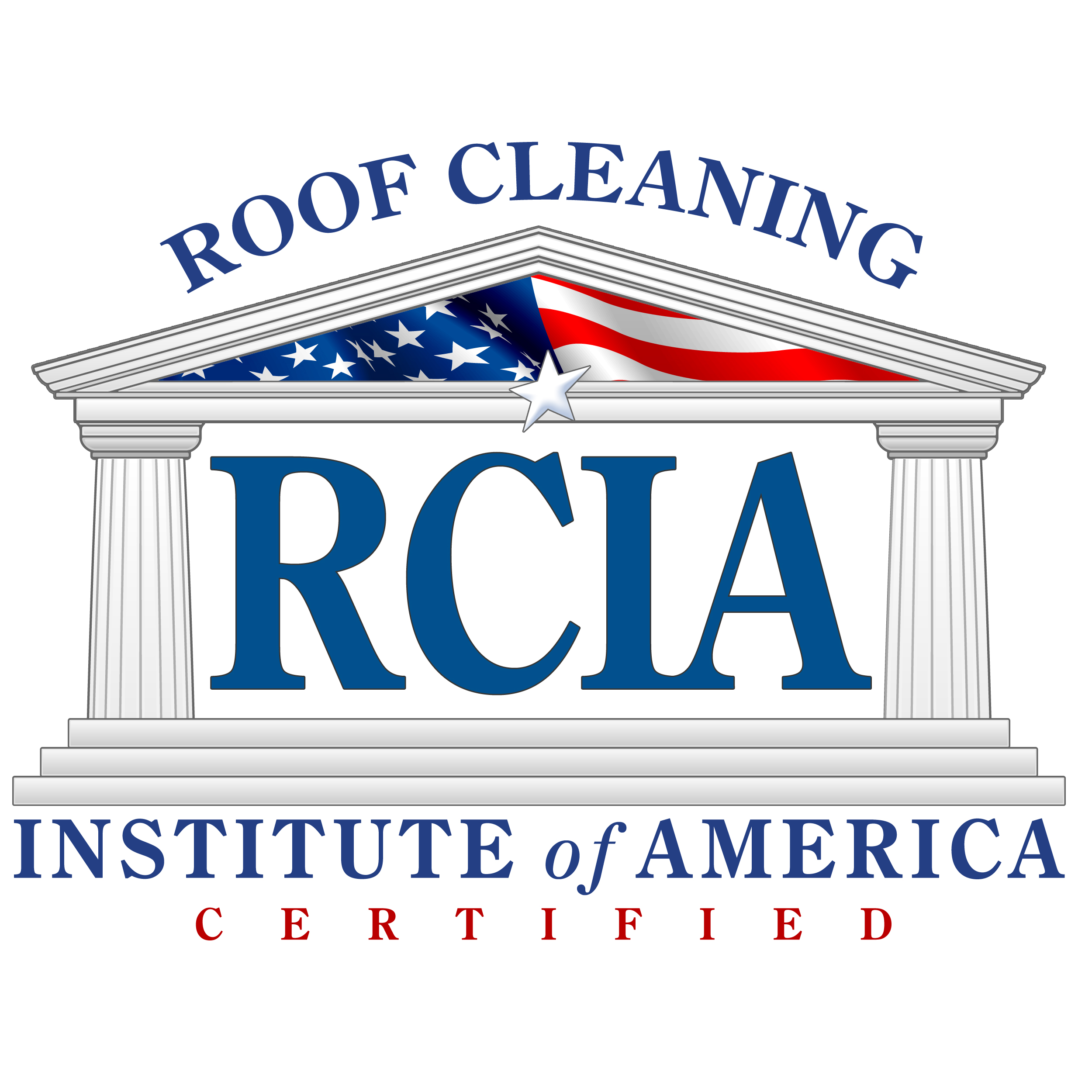 RCIA Certified Roof Cleaning Logo
