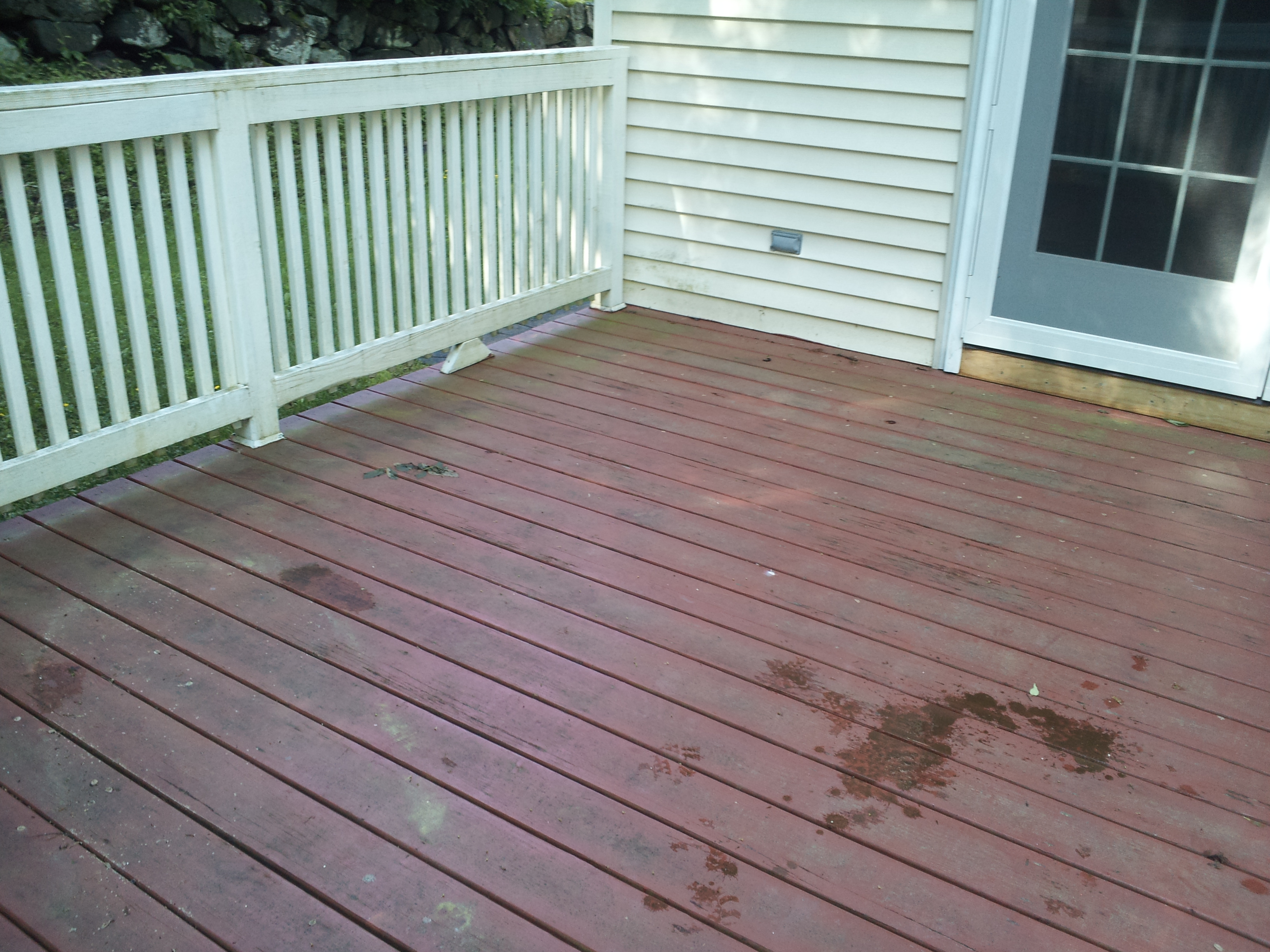 What To Do With A Painted Deck