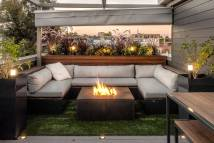 Rooftop Deck With Retractable Canopy - Denver Roof Decks