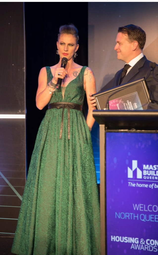 Women in Building Award NQLD with Chris North