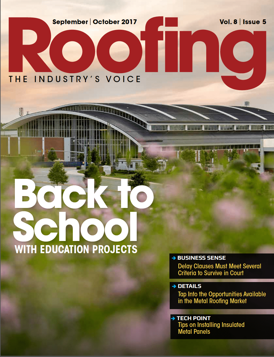 Roofing September/October 2017 issue