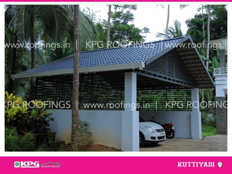 roof tiles for car shed