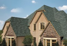 Houses with Green Shingle Roofs
