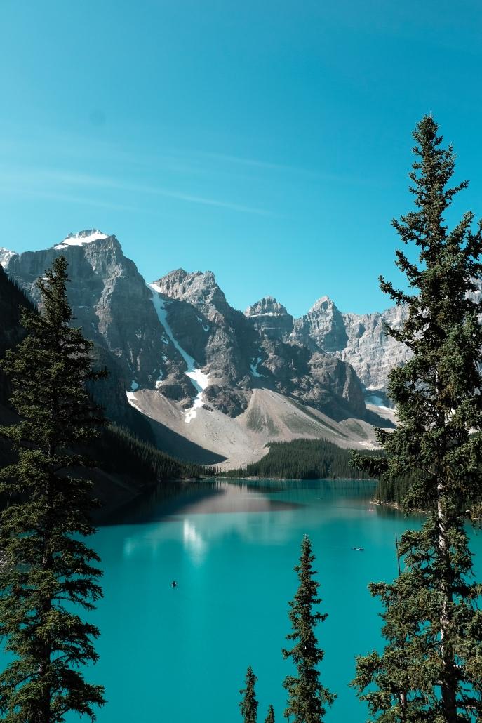 Splash Moraine : splash, moraine, Birds, Views, Banff, National, Roofnest