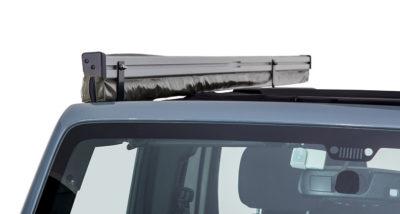 sunseeker bracket kit jeep wrangler 4dr r h rhino rack 32121