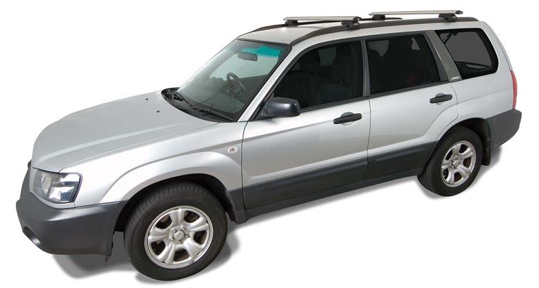 subaru forester 5dr wagon with roof rails 07 02 02 08 rhino rack vortex roof racks pr