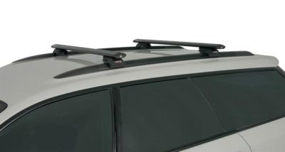 subaru outback 3rd gen 4dr wagon w roof rails 09 03 08 09 rhino rack black vortex roof racks pr