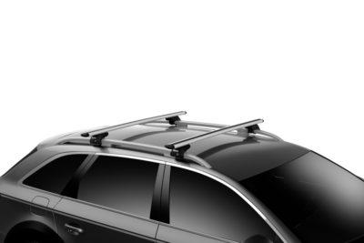 volkswagen touareg 7p 5dr suv w roof rails 07 11 12 18 thule wingbar evo roof racks pr