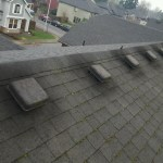 Black Streaks on Roof - Poor Ventilation