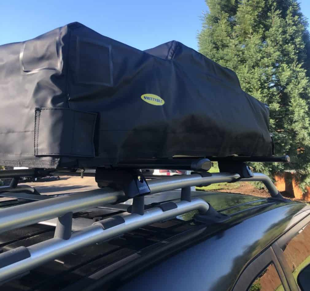 roof top tent mounting ideas with