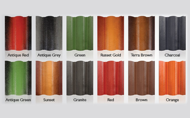 color roof tile roof tile manufacturers