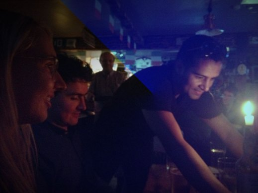 Couchsurfing Meet-up in a pub in Reykjavik
