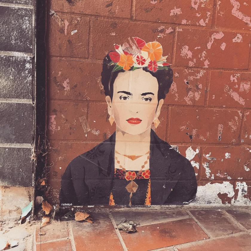 Finally found a Frida by onistreetart today in ehrenfeld Ashellip