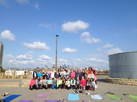 The last Sunday class with Tania 2014