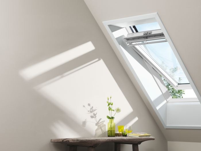 velux ggl mk08 2070 white painted centre pivot window 780mm x 1400mm