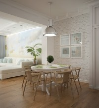 A Creative Concept In Combining Kitchen, Dining Room, And ...