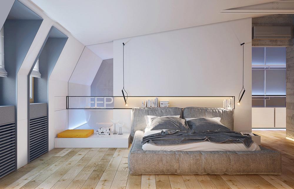 The Attic bedroom design For Masculine Mens Retreat  RooHome