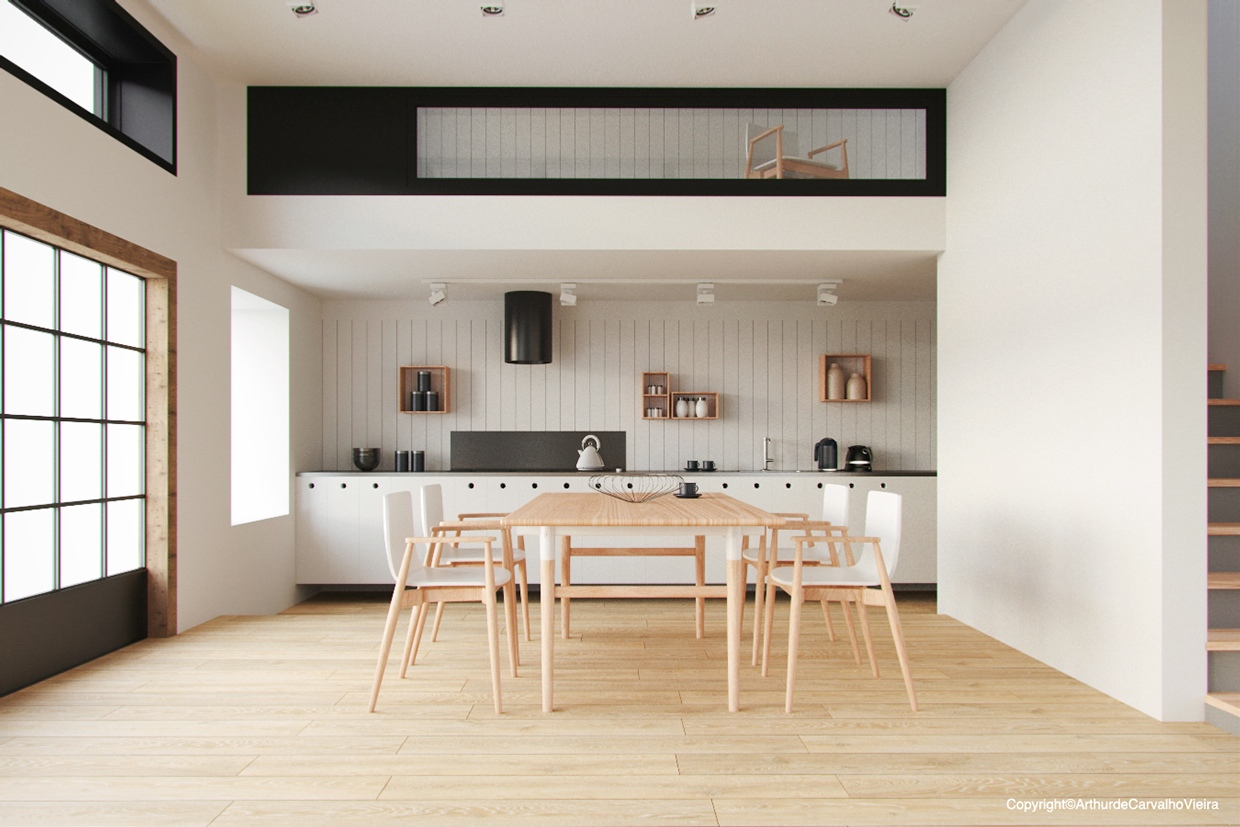 7 Inspirational Ideas For Dining Room Using White And