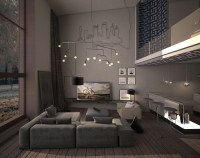 15 Dark Living Room Decorating Ideas Arranged With ...