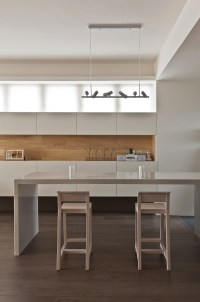 Taiwanese Apartment Interior Design With a Wooden Accent ...