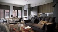 4 Posh Apartment Interior Design In A Small Space ...