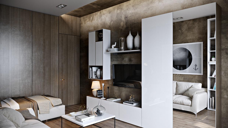 4 Posh Apartment Interior Design In A Small Space RooHome Designs Amp Plans