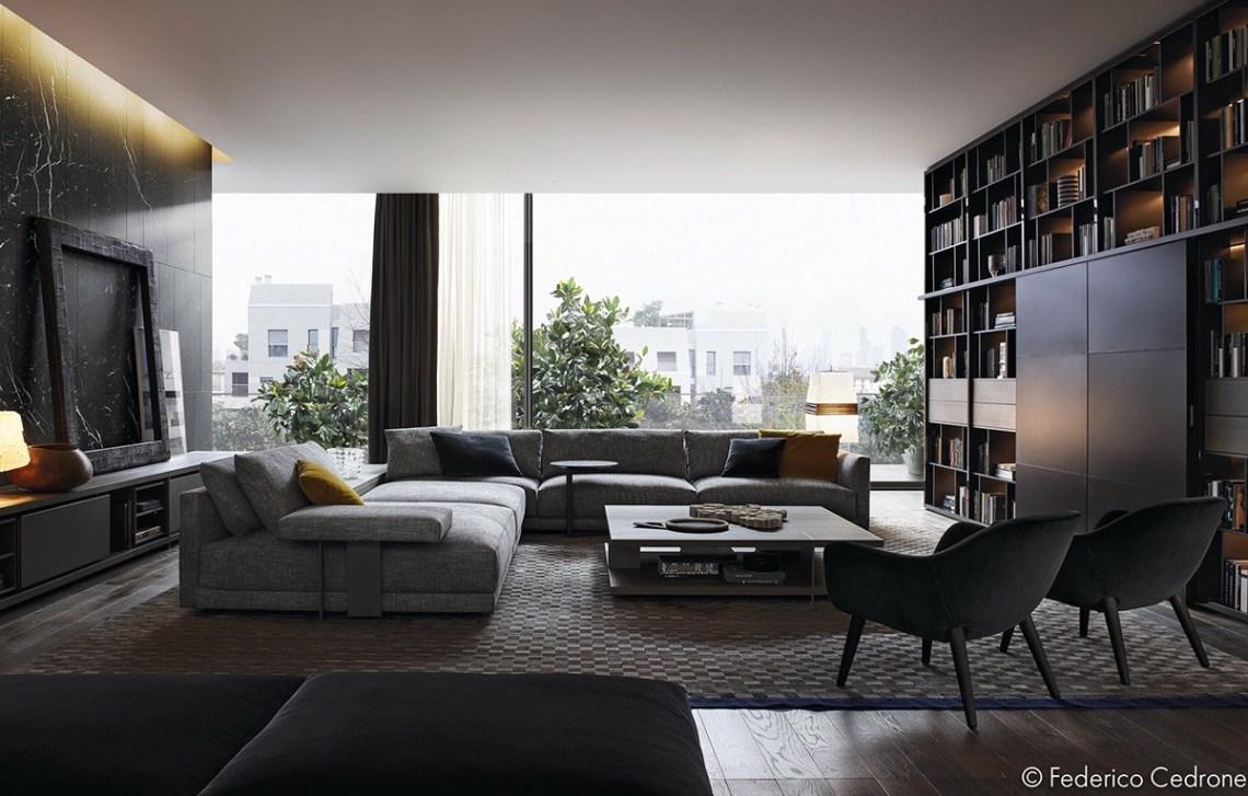 3 Unique Living Room Interior Design, Theme and Color ...