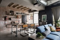 A Stylish Urban Apartment Interior Design Styles - RooHome