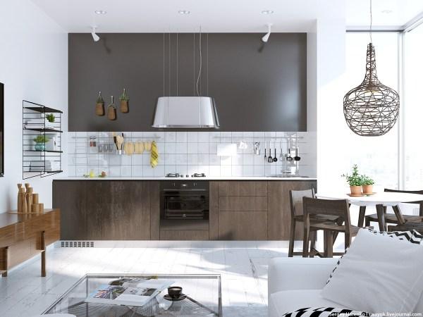 scandinavian kitchen tile designs 6 Beautiful Scandinavian Kitchen Design Ideas with A Simple Dining Table - RooHome