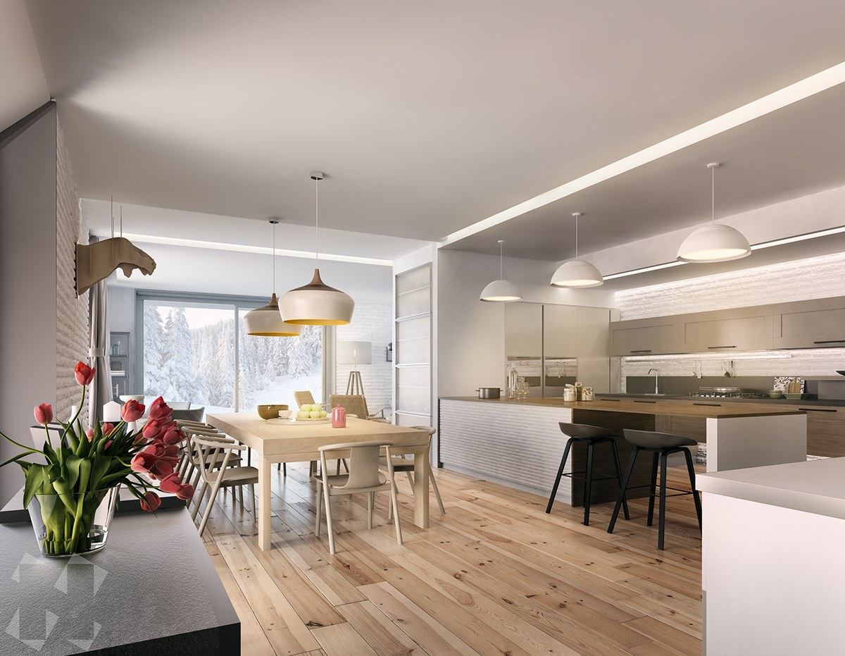 3 Picturesque Scandinavian Country Style Interior Design