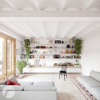 3 Picturesque Scandinavian Country Style Interior Design ...