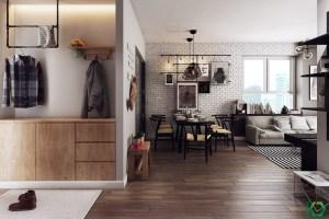 A Charming Nordic Apartment Interior Design by Koj Design ...